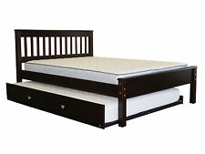 Bedz King MissionFull Slat Bed with Trundle
