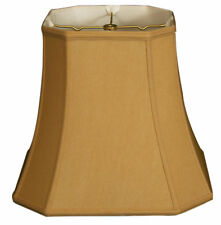 "Royal Designs 16"" Timeless Silk Square Lamp Shade"