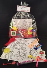 Personalised pre-filled boys/girls cellophane wedding party/gift/loot bag
