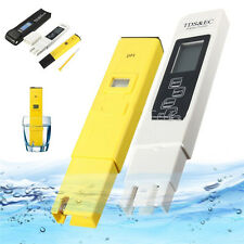 Digital LCD PH Meter TDS EC Water Purity PPM Filter Pool Hydroponic Tester Pen