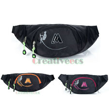 Unisex Waterproof Nylon Travel Hiking Hip Belt Sling Chest Fanny Pack Waist Bag