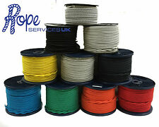 Elastic Bungee Rope, Shock Cord, Tie Down,6mm 8mm 10mm, Various Colours x 100mts