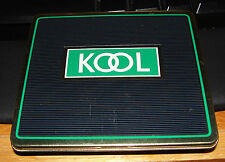 Vintage KOOL Horizontal Cigarette Pocket Tin Made in England 1960's-1970's