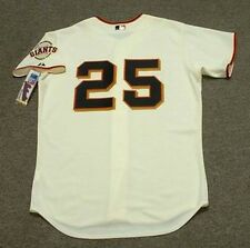 BARRY BONDS San Francisco Giants Majestic Authentic Home Baseball Jersey