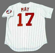 CARLOS MAY Chicago White Sox 1970's Majestic Cooperstown Home Baseball Jersey