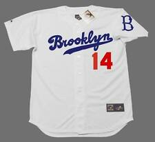 GIL HODGES Brooklyn Dodgers Majestic Cooperstown Home Baseball Jersey