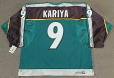 PAUL KARIYA Anaheim Mighty Ducks 1998 CCM Throwback Alternate NHL Hockey Jersey