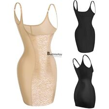 Women lady strap Shapewear Stretch Body Shaping slim Full Slip Shaper