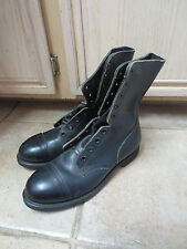 U.S. MILITARY JUMP/FLIGHT DECK BOOTS SZ 8 WIDE STEEL TOED NEW/UNISSUED, NO LACES