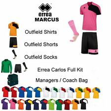 ERREA Marcus Team Football Strips Kits different Bundle sizes + Managers Bag.