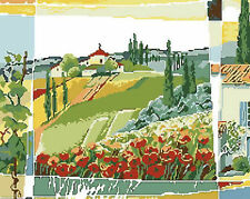 The Country Dreaming Needlepoint Canvas