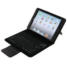 WIRELESS BLUETOOTH KEYBOARD LEATHER CASE COVER STAND for iPad Mini 1 2 3 RETINA