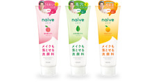 Kracie Naive Makeup Remover Facial Cleansing Foam 200g Japan