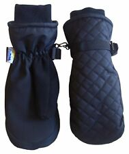 NICE CAPS Kids Boys Girls Waterproof Quilted Ski Snow Winter Thinsulate Mittens