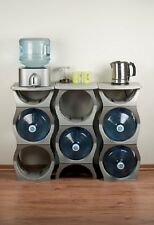 U Water Bottle Rack - Storage Solution for 3 & 5 Gallon Water Bottles