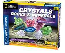 Crystals Growing Rocks and Minerals Thames & Kosmos Earth Science Experiment Kit