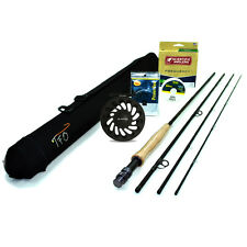 "NEW - TFO Professional II Fly Rod Outfit (6wt, 9'0"", 4pc)  - FREE SHIPPING!"
