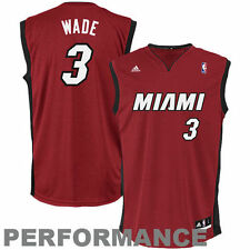 Dwyane Wade Miami Heat adidas Replica Alternate Jersey - Red - NBA