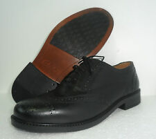 CLARKS MENS BRAVO BROGUES BLACK LEATHER LACE UP SHOES UK various size extra wide
