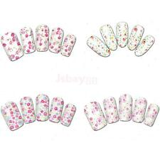 Sea Flower Floral Painting Nail Art Stickers Transfer Water Decals Nail Wraps