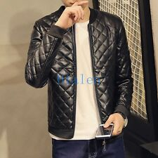 01 Mens Baseball Uniform Jacket Young Overcoats Jacket Outwear Slim fit Clothes