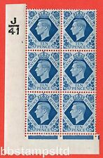 SG. 474. Q26. 10d Turquoise-Blue. A fine mounted mint. Control  J41 cylinder 1.