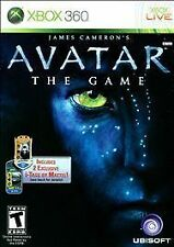 James Cameron's Avatar: The Game (Microsoft Xbox 360, 2009)