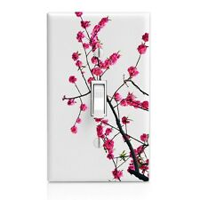 Cherry Tree Blossoms Wall Plate Rocker Toggle Outlet Decor Switch Plate Cover