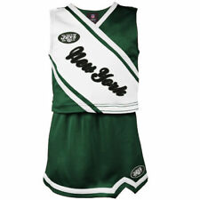 New York Jets Girls Youth 2-Piece Cheerleader Set - Green - NFL
