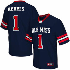 #1 Ole Miss Rebels Colosseum Big & Tall Football Jersey - Navy - College