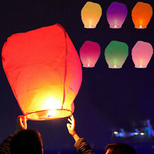 Kongming lantern Paper Sky Flying Wishing Lantern Lamp Candle Party Wedding Wish