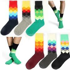Wholesale 1 Pair Cotton Socks Multi-Color Fashion Dress Mens