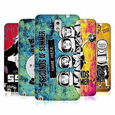 CUSTOM PERSONALISED 5SOS MIXED ICONS SOFT GEL CASE FOR SAMSUNG PHONES 2