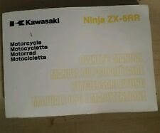 2005 Kawasaki ZX-6RR Owners Manual 99976-1212