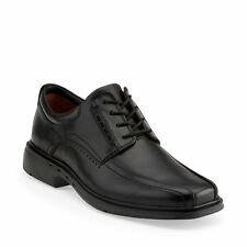 Mens Clarks Unstructured Shoes Un.Kenneth Black leather Oxford Lace Up 26086093