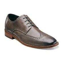 Florsheim Mens shoes Castellano Wing Ox Oxford Gray grain leather 14137-020 EEE