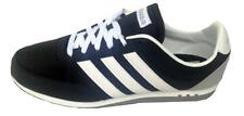 Adidas Mens V Racer Nylon Trainer F37915 Black/white UK 8,9.5 New Boxed