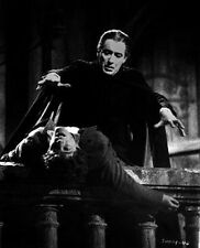 Dracula Has Risen From The Grave Two Men in Black and White High Quality Photo