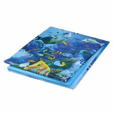 Shower Curtain Waterproof Bathroom Fabric Curtain (Sea Life) C1