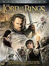 The Lord of the Rings: Return of the King (DVD, 2004, 2-Disc Set) LIKE NEW