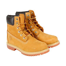 Timberland 6 In Premium Boot Womens Womens Tan Leather Boots Shoes