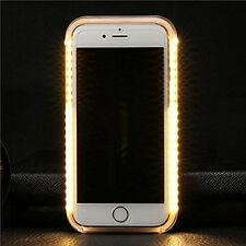 For iPhone 6 6S Luxury LED Light Up Selfie Protective Luminous Phone Cover Case