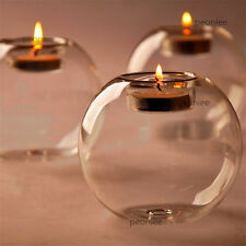 NEW Crystal Glass Candle Holder Wedding Bar Party Dinner Decor Candlestick