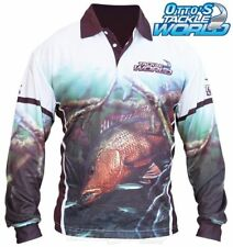 Tackle World Mangrove Jack 2016 Long Sleeve Fishing Sun Shirt BRAND NEW @ Otto's