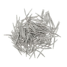 200pcs Stainless Steel Curved Spring Bar Pins Link for Watch Band 16-26mm