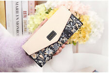 New Case Bag Wallet Card Purse Handbag Women Clutch Long Fashion Lady Holder