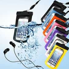 Waterproof Bag Underwater Pouch Dry Case Cover Earphone For iPhone Phone Samsung