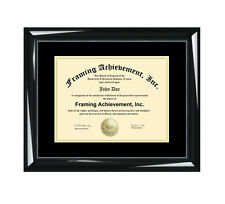 Certificate Frame Graduation Diploma College University Framing Degree Document