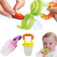 New Fresh Food Milk Nibbler Feeder Chewing Pacifier Safe Baby Supplies Must Tool