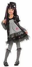 Rubies Drama Queens Goth Doll-Ista Child Costume Gothic Rag Doll Halloween Party